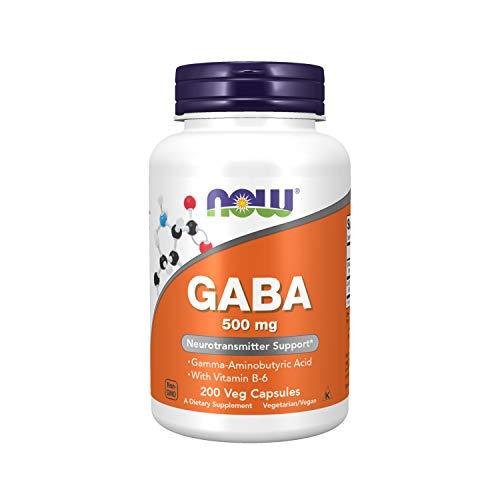 Now Foods, GABA, natürliche beruhigende Wirkung, 200 Kapseln