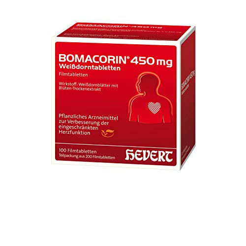 Bomacorin 450 mg Weißdorntabletten, 200 St. Tabletten